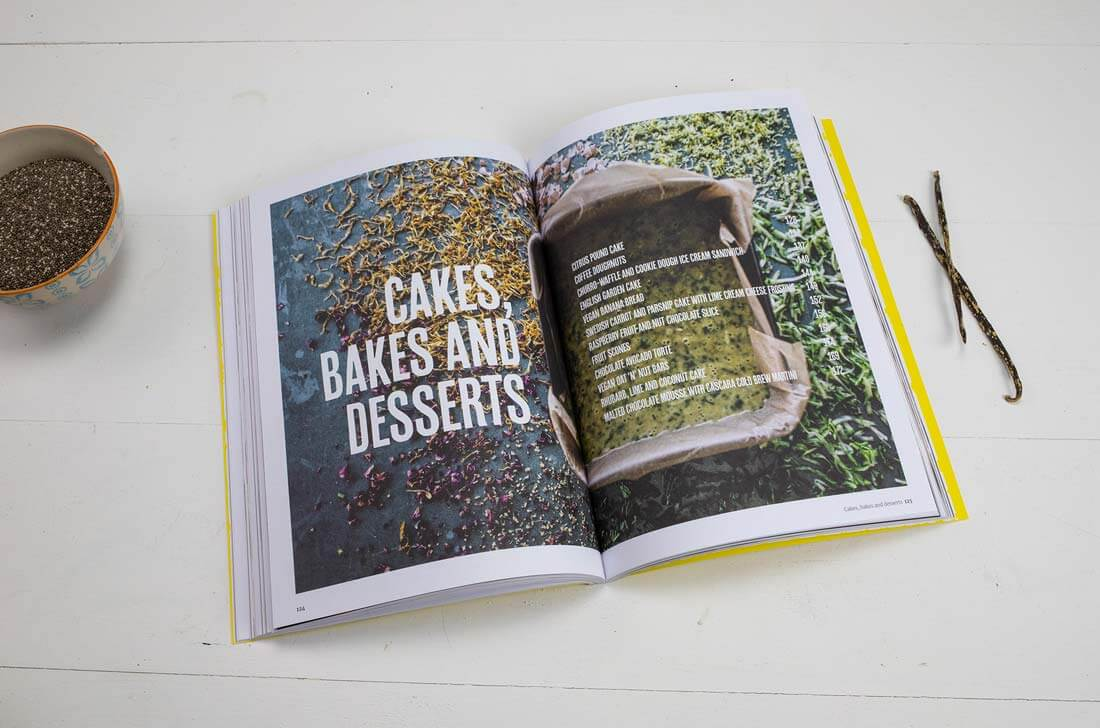 Indy Cafe Cookbook cakes bakes and desserts
